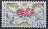 Poštovní známka Česká republika 2010 Lucemburkové na českém trůně, 700. výročí Mi# 635