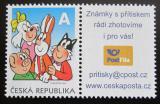 Poštovní známka Česká republika 2010 Čtyřlístek Mi# 641