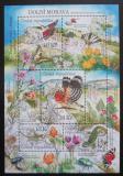 Poštovní známky Česká republika 2010 Ochrana přírody - Dolní Morava Mi# Block 42