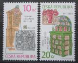 Poštovní známky Česká republika 2010 Historická kamna Mi# 657-58