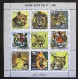 Poštovní známky Guinea 2002 Kočkovité šelmy Mi# N/N