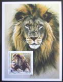 Poštovní známka Guinea 2002 Lev Mi# N/N