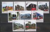 Poštovní známky Guinea-Bissau 2001 Čínské lokomotivy Mi# 1827-35 Kat 13€