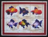 Poštovní známky Guinea-Bissau 2001 Ryby Mi# 1516-21