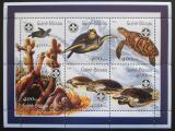 Poštovní známky Guinea-Bissau 2001 Želvy Mi# 1584-89 Kat 10€