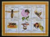 Poštovní známky Guinea-Bissau 2001 Včely Mi# 1510-15