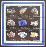 Poštovní známky Guinea-Bissau 2001 Minerály Mi# 1534-42 Kat 11€