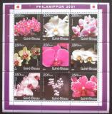 Poštovní známky Guinea-Bissau 2001 Orchideje Mi# 1479-87 Kat 12€