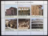 Poštovní známky Guinea-Bissau 2003 Architektura Starého Říma Mi# 2182-87 Kat 10€