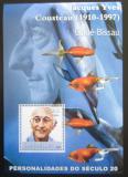 Poštovní známka Guinea-Bissau 2001 Jacques Yves Cousteau, oceánograf Mi# N/N