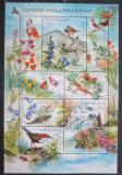 Poštovní známky Česká republika 2005 Fauna a flóra Krkonoš Mi# Block 23