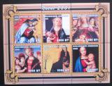 Poštovní známky Mosambik 2001 Umění, vánoce Mi# 1986-91 Kat 11€