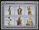 Poštovní známky Mosambik 2001 Sochy, Michelangelo Mi# 2127-32 Kat 11€