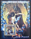 Poštovní známka Mosambik 2001 Umění, Lucas Cranach Mi# Block 95
