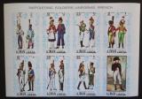 Poštovní známky Adžmán 1971 Napoleonské uniformy neperf. Mi# 685-92 B Kat 11€