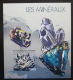 Poštovní známka Burundi 2012 Minerály neperf. Mi# Block 271 B