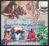 Poštovní známka Burundi 2012 Pěstování kávy Mi# Block 253 Kat 9€