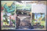 Poštovní známky Burundi 2012 Umění, Camille Pissarro Mi# 2343-46 Kat 10€