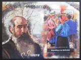 Poštovní známka Burundi 2012 Umění, Camille Pissarro Mi# Block 203 Kat 9€