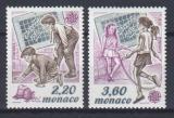 Poštovní známky Monako 1989 Evropa CEPT, dětské hry Mi# 1919-20