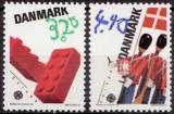 Poštovní známky San Marino 1989 Evropa CEPT, dětské hry Mi# 1407-08 Kat 10€