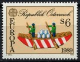 Poštovní známka Rakousko 1989 Evropa CEPT, dětské hry Mi# 1956
