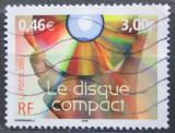 Poštovní známka Francie 2001 Kompaktní disk Mi# 3513