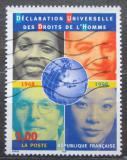 Poštovní známka Francie 1998 Deklarace lidských práv, 50. výročí Mi# 3351