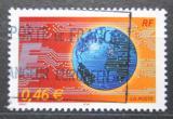 Poštovní známka Francie 2002 Zeměkoule Mi# 3670