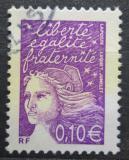Poštovní známka Francie 2002 Marianne Mi# 3582