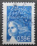 Poštovní známka Francie 2002 Marianne Mi# 3587