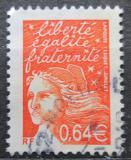 Poštovní známka Francie 2002 Marianne Mi# 3588
