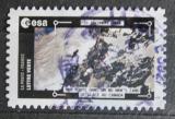 Poštovní známka Francie 2018 Satelitní snímek ledovců v Kanadě Mi# 7026