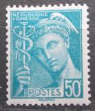 Poštovní známka Francie 1942 Merkur Mi# 386