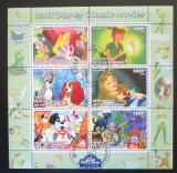 Poštovní známky Pobřeží Slonoviny 2003 Disney postavičky Mi# N/N