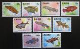 Poštovní známky Kongo Dem., Zair 1978 Ryby Mi# 548-56 Kat 13€