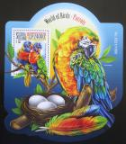 Poštovní známka Sierra Leone 2015 Papoušci Mi# Block 854 Kat 11€