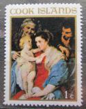 Poštovní známka Cookovy ostrovy 1967 Vánoce, umění, Peter Paul Rubens Mi# 176