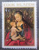 Poštovní známka Cookovy ostrovy 1967 Vánoce, umění, Jan van Eyck Mi# 178