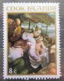 Poštovní známka Cookovy ostrovy 1967 Vánoce, umění, Giacomo Bassano Mi# 179
