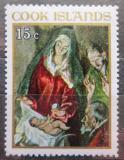 Poštovní známka Cookovy ostrovy 1967 Vánoce, umění, El Greco Mi# 180
