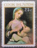Poštovní známka Cookovy ostrovy 1967 Vánoce, umění, Correggio Mi# 181