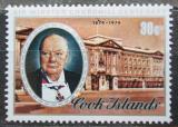 Poštovní známka Cookovy ostrovy 1974 Winston Spencer Churchill Mi# 441