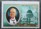 Poštovní známka Cookovy ostrovy 1974 Winston Spencer Churchill Mi# 442