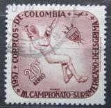 Poštovní známka Kolumbie 1957 Šermíř Mi# 825