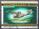 Poštovní známka Kolumbie 1966 Letadlo Dornier Wal Mi# 1070
