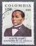 Poštovní známka Kolumbie 1972 Benito Juárez Garcia, mexický prezident Mi# 1239