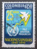 Poštovní známka Kolumbie 1970 OSN, 25. výročí Mi# 1169