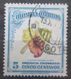 Poštovní známka Kolumbie 1947 Orchidej Mi# 504