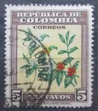 Poštovní známka Kolumbie 1947 Kávovník arabský Mi# 499